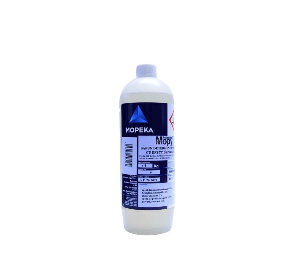Ghidul de utilizare a dezinfectanților - Mopeka